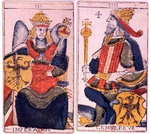 Emperess and Emperor Cards