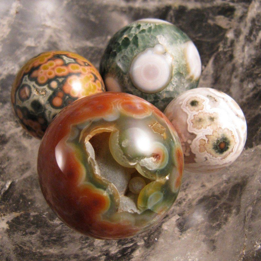 ocean jasper spheres